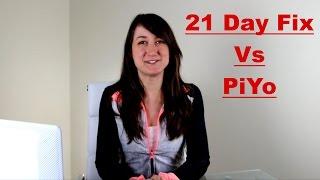 A Comparison of the 21 Day Fix vs PiYo Workout Programs