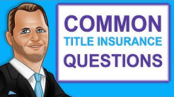 Episode 73 Common Title Insurance Questions on Florida Real Estate