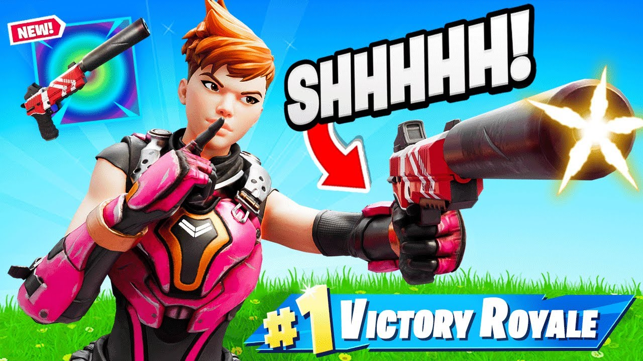 Download New *EXOTIC* SHADOW TRACKER Gun in Fortnite!