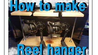 【自作】リールハンガー How to make reel hangers.