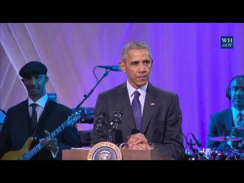 Obama Jokes At Final White House Music Night - Full Speech
