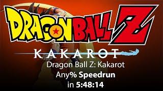 Dragon Ball Z: Kakarot Any% Speedrun in 5:48:14