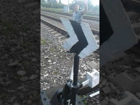 Снова утро рабочий день проверка жд пути на жд станции Орёл Московская железная дорога