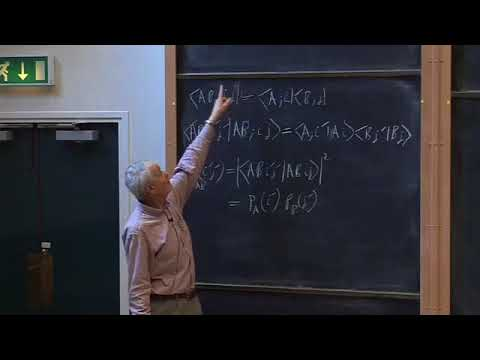 Oxford   Lecture 16 Composite Systems   Entanglement and Operators