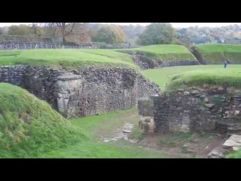 Caerleon Roman Amphitheatre And Baths Gwent South Wales