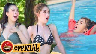 Hot Girl Đại Chiến Hồ Bơi Phần 4 | Phim Hài Mới Nhất Ghiền Mì Gõ 2020