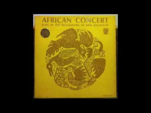 The Troubadours Of King Baudouin - African Concert [LP]