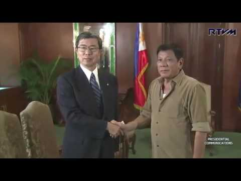 President Duterte Courtesy Call of Asian Development Bank President Takehiko Nakao