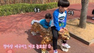 [주말나들이] 어린이대공원 벚꽃축제 다녀왔어요-!