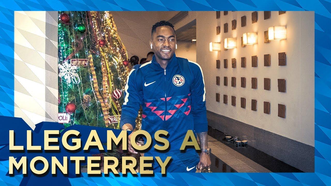 Llegada De Club América A Monterrey Cuartos De Final