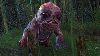 Witcher 3: Botchling Boss Fight (Hard Mode) (4K 60fps)