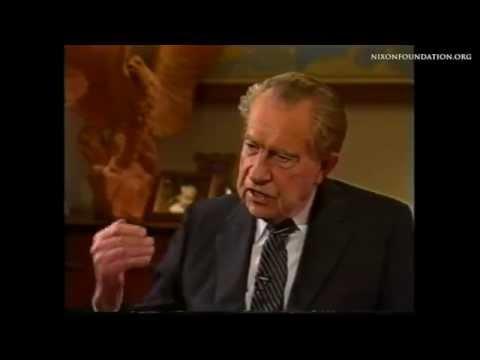 "Richard Nixon on ""Inside Washington"""