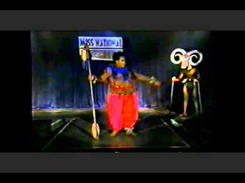 Darcel Stevens Miss National at LG 2000.wmv