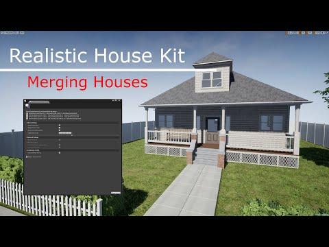 Realistic House Kit (Merging Houses)