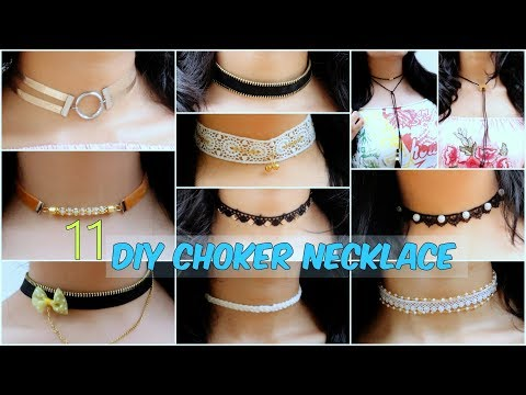 DIY: 11 Quick And Easy Choker Necklace