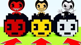 Minecraft : DO NOT CHOOSE THE WRONG BENDY! (Ps3/Xbox360/PS4/XboxOne/PE/MCPE)