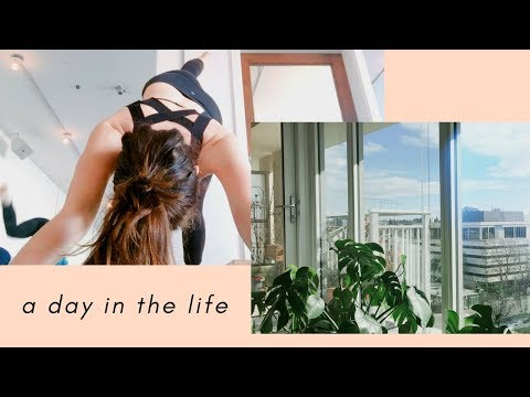 A Day in the Life / Yoga, Filming, Vegetarian!