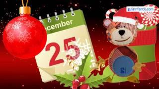 Feliz Navidad, merry christmas. Weihnachtslieder Spanisch lernen für kinder