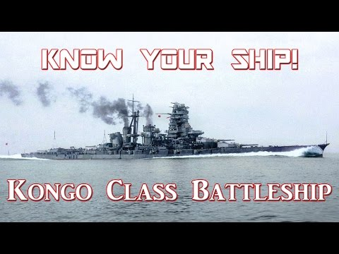 World of Warships - Know Your Ship #11 - Kongo Class Battleship
