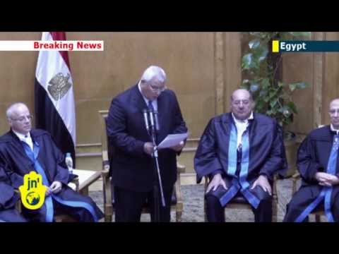 Egypt Unrest: Egyptian interim leader Adly Mansour outlines timetable for new national elections