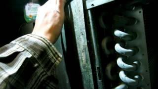 Musty Smell from Your AC Vents? Check and Clean the Evaporator coil - HVAC freezing up with ice