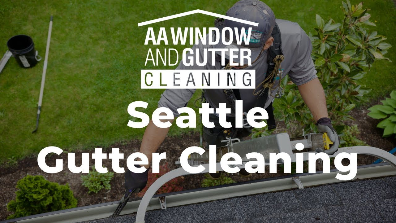 Gutter Cleaning Service For Seattle And Portland Aa Window And Gutter Cleaning