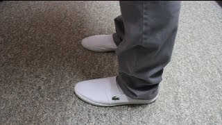 fbfe42684677 Lacoste Marice Loafer Shoes (white) - YouTube