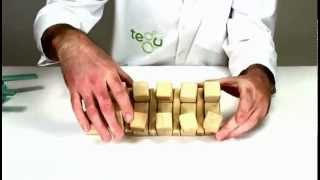 Wooden Toys From Tegu - Building A Chocolate Bar