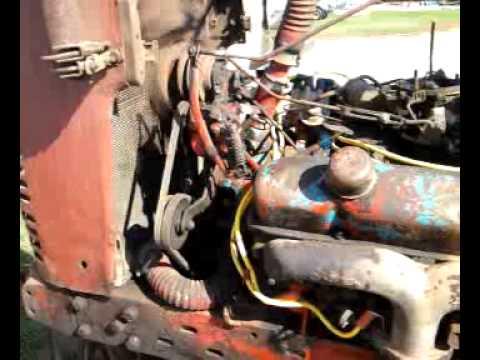 Farmall M V8 Chrysler Engine Youtube