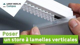 Comment Poser Un Store A Lamelles Verticales Leroy Merlin Youtube
