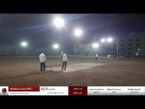 Live Cricket Match | CricHeroes | 10-Mar-20 10:45 pm 10 overs | SPL T-10 (2020) | CricHeroes