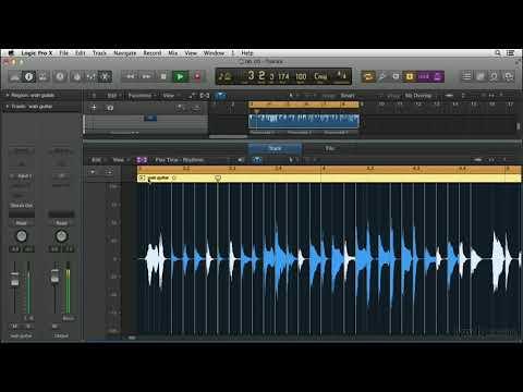 Logic Pro X tutorial: Exploring Flex Time | lynda.com