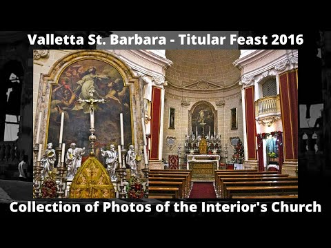 Valletta St. Barbara - Feast St. Barbara 2016 - Photos - 1 Peal at Noon - 2 Bells (1,2) / 4