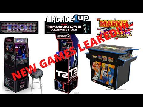 Arcade1up - 3 New Games Leaked by Canadian Retailer Indigo! Tron!!! Terminator 2! Marvel vs Capcom! from PsykoGamer