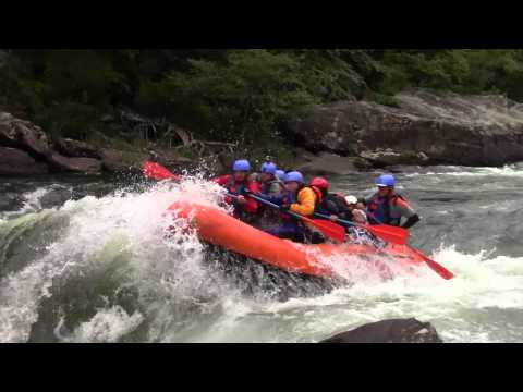 Upper Gauley River White Water Rafting Class V  West Virginia 9/14/2014