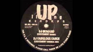 Fabulous Faber - Excitement (DJ Demand Remix)