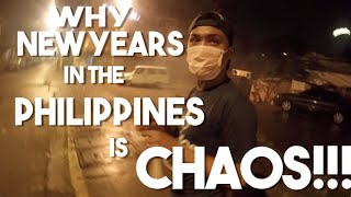 New Years in the Philippines (Vlog 54 - Zombie Apocalypse on the Streets of Manila)