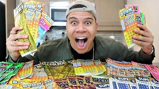 CRAZY $1000 LOTTERY JACKPOT CHALLENGE!! (WON THE BIGGEST JACKPOT) thumbnail
