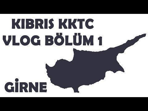 Kıbrıs KKTC Gezi VLOG Bölüm 1 (Girne)