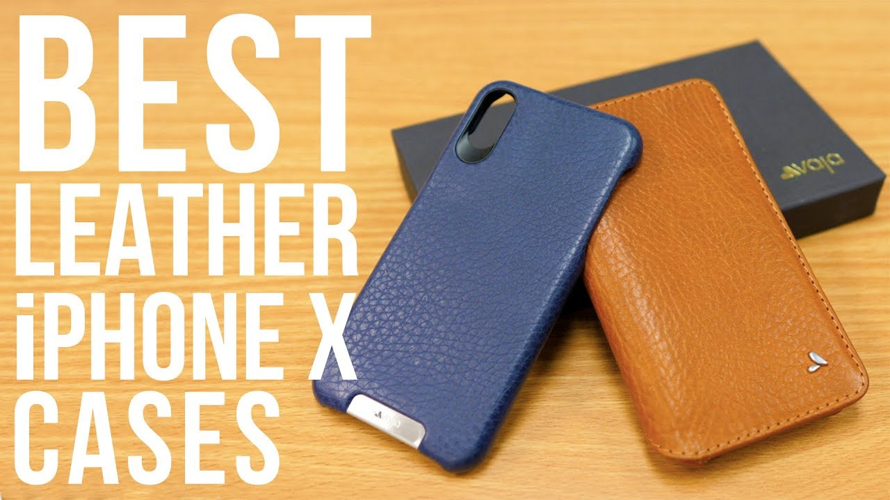 newest e586d 0cbc6 The Best Leather iPhone X Cases from Vaja - The Grip & Wallet Agenda