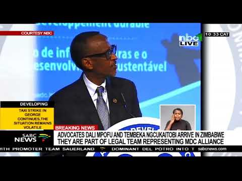 38th SADC Summit in Namibia - Paul Kagame