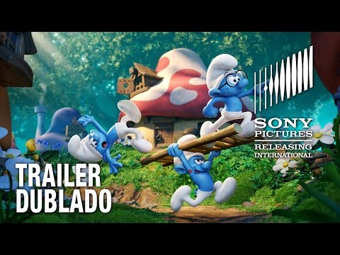 Os Smurfs E A Vila Perdida  Trailer 2 Dublado  6 de abril nos cinemas