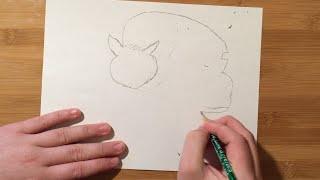 Catbus Speed Draw