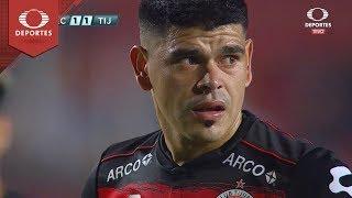 Penal de Gustavo Bou | Necaxa 1 - 2 Tijuana | Clausura 2019 - Jornada 8 | Televisa Deportes