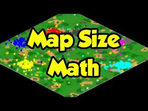 AoE2 Map Sizes