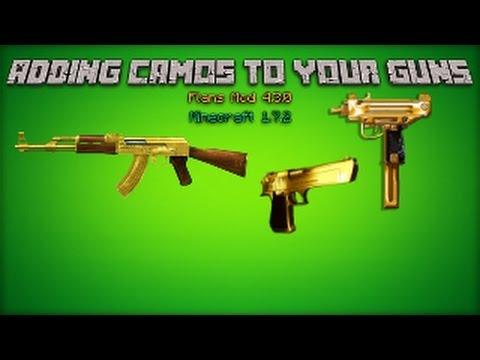 flans mod how to make guns