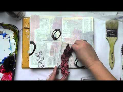 Art Journal Fast Forward Growing