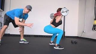 Get a Rounder Butt with this Squat Technique + Squat Sponge Challenge