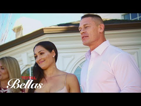 John Cena and Nikki Bella's engagement party toast is interrupted: Total Bellas P, May 27 2018