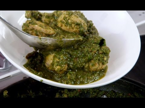 Punjabi Chicken with Spinach - Indian Food Made Easy with Anjum Anand - BBC Food